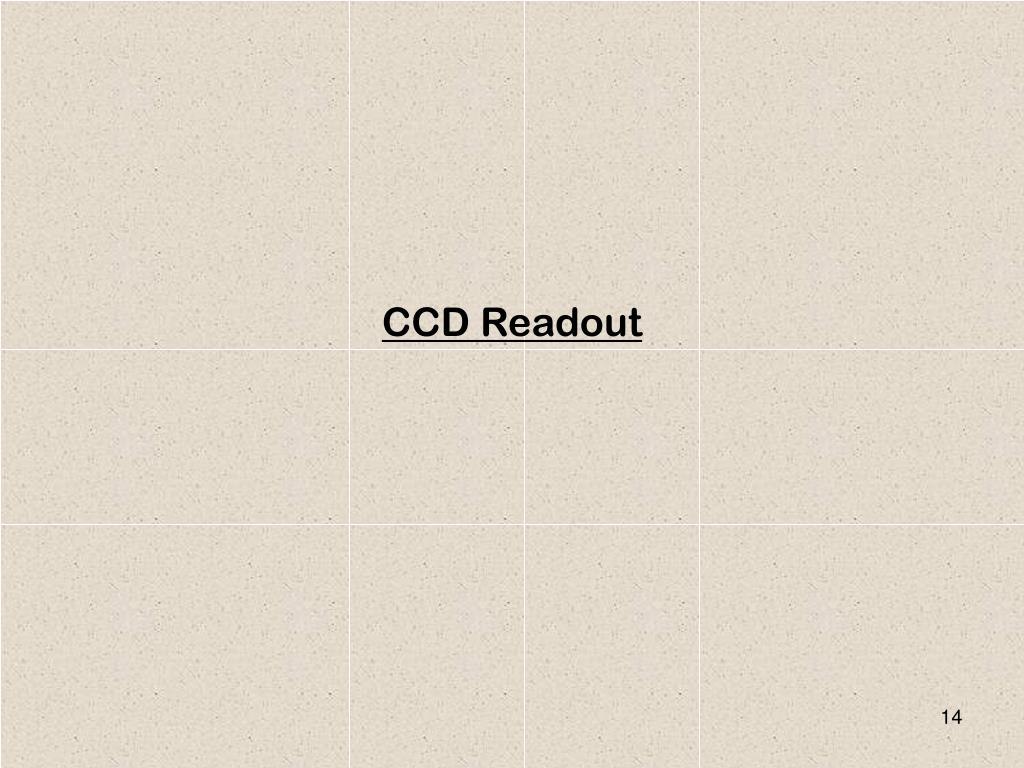 CCD Readout