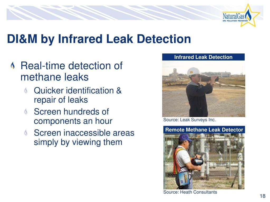 Infrared Leak Detection