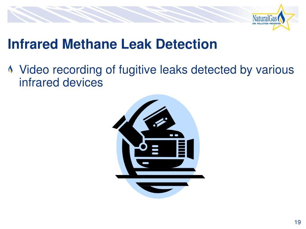 Infrared Methane Leak Detection