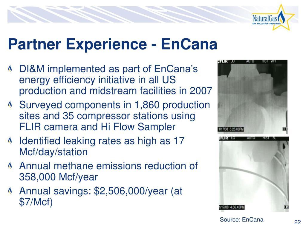 Partner Experience - EnCana