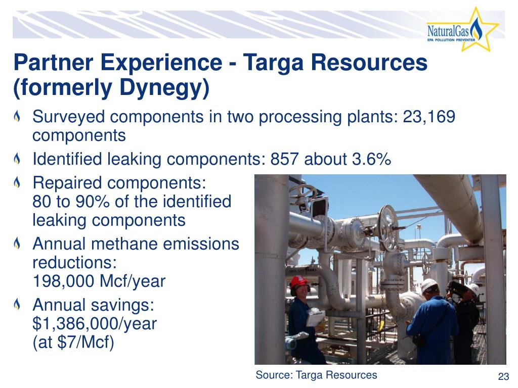 Partner Experience - Targa Resources (formerly Dynegy)