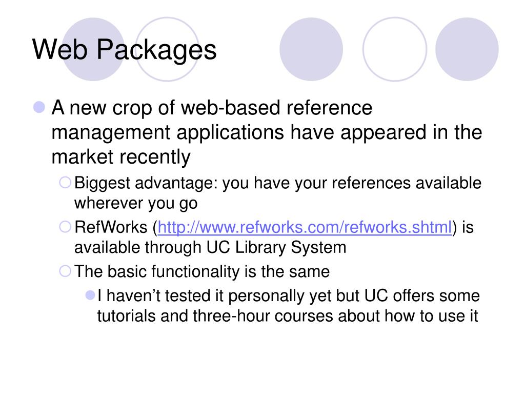 Web Packages