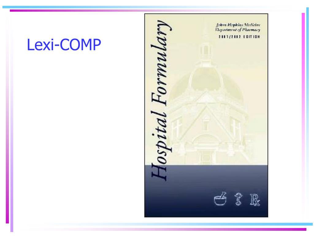 Lexi-COMP