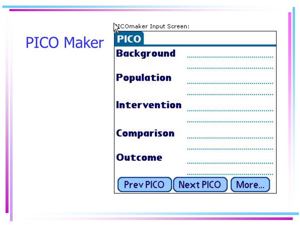 PICO Maker