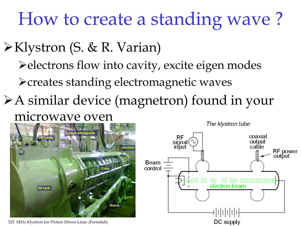 How to create a standing wave ?