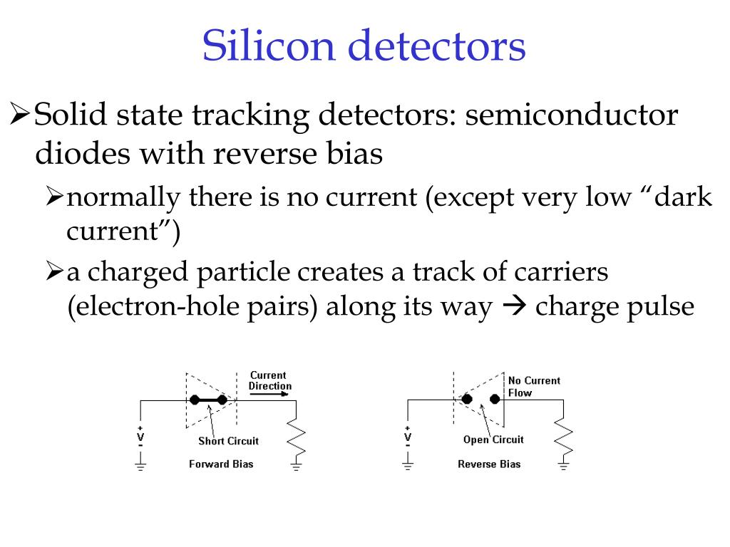 Silicon detectors