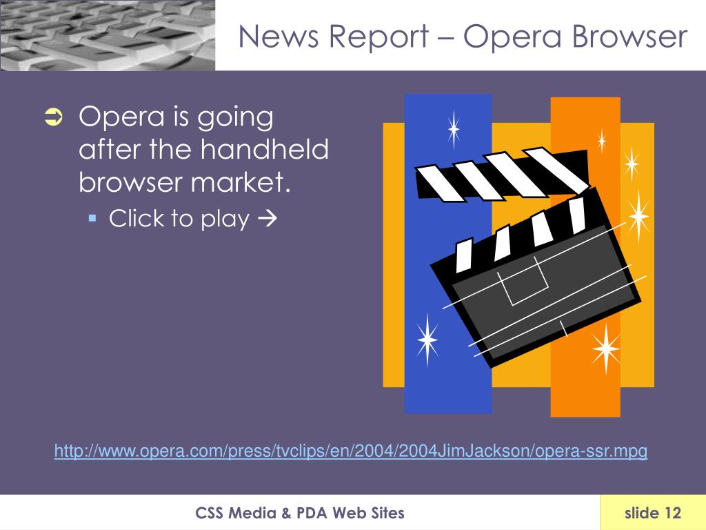 News Report – Opera Browser