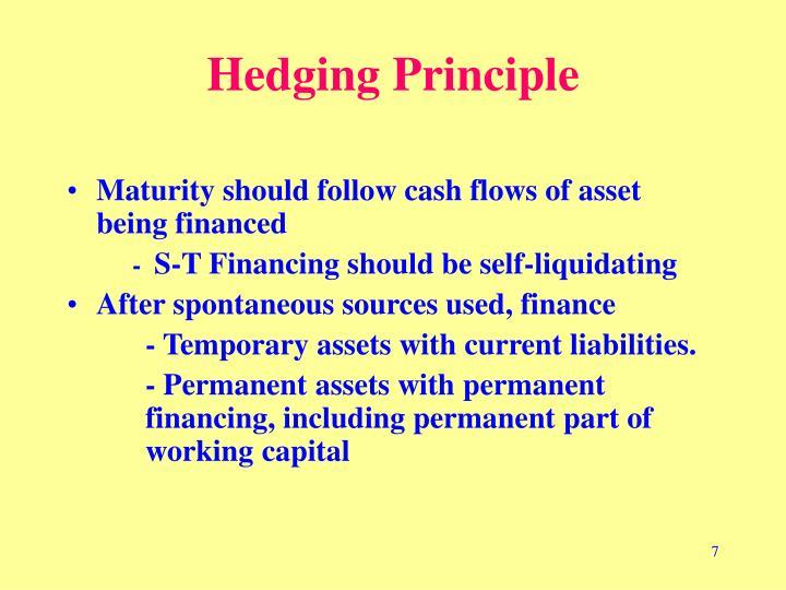 Hedging Principle