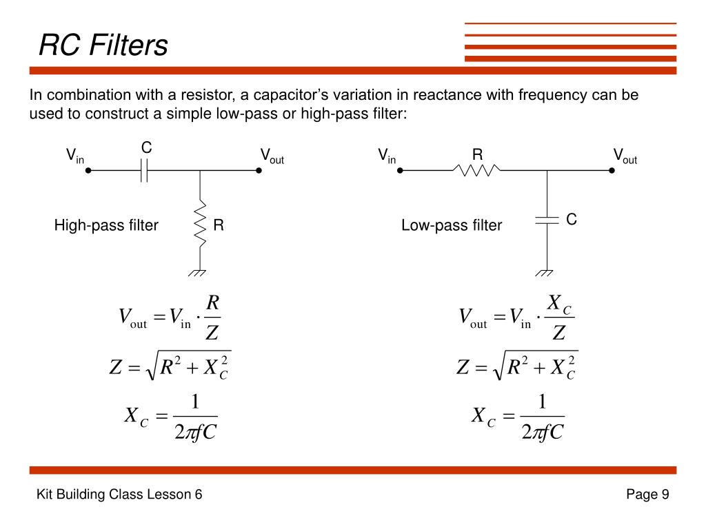 RC Filters