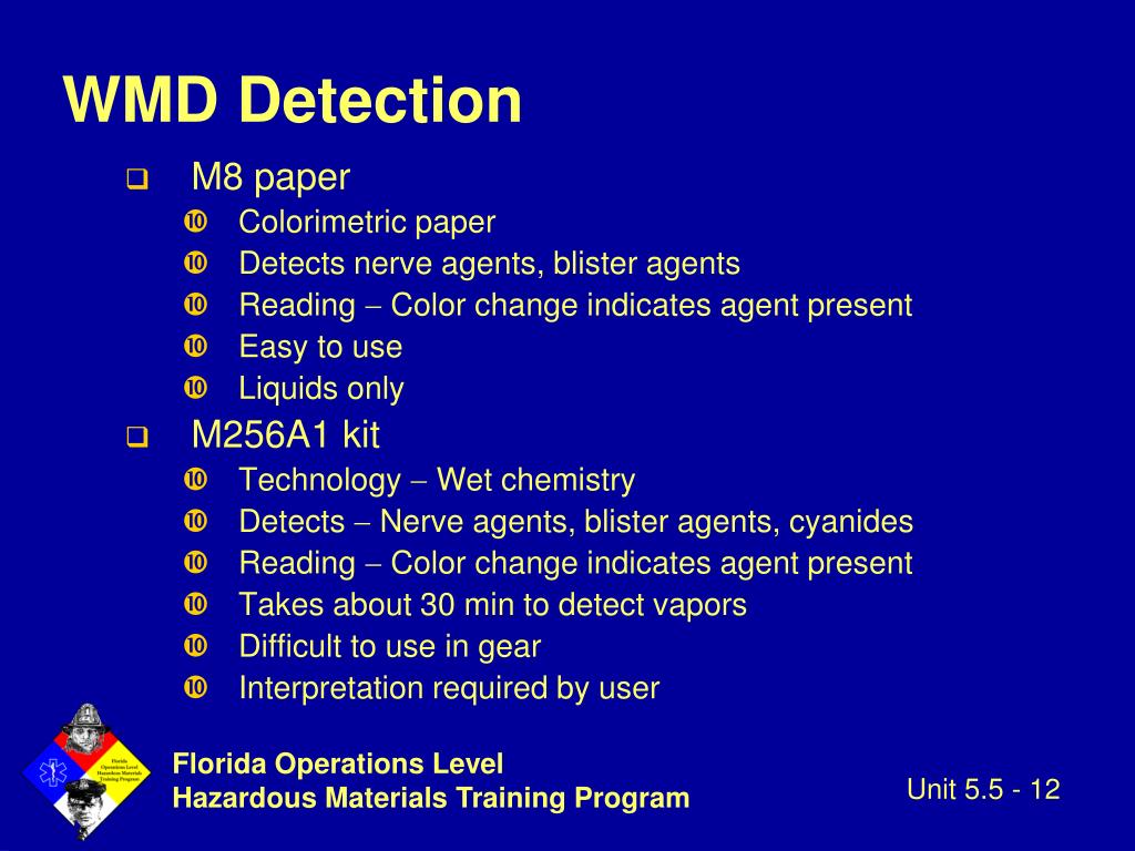 WMD Detection