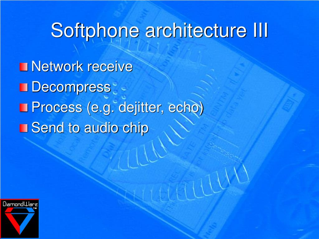 Softphone architecture III