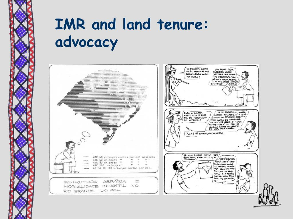 IMR and land tenure: