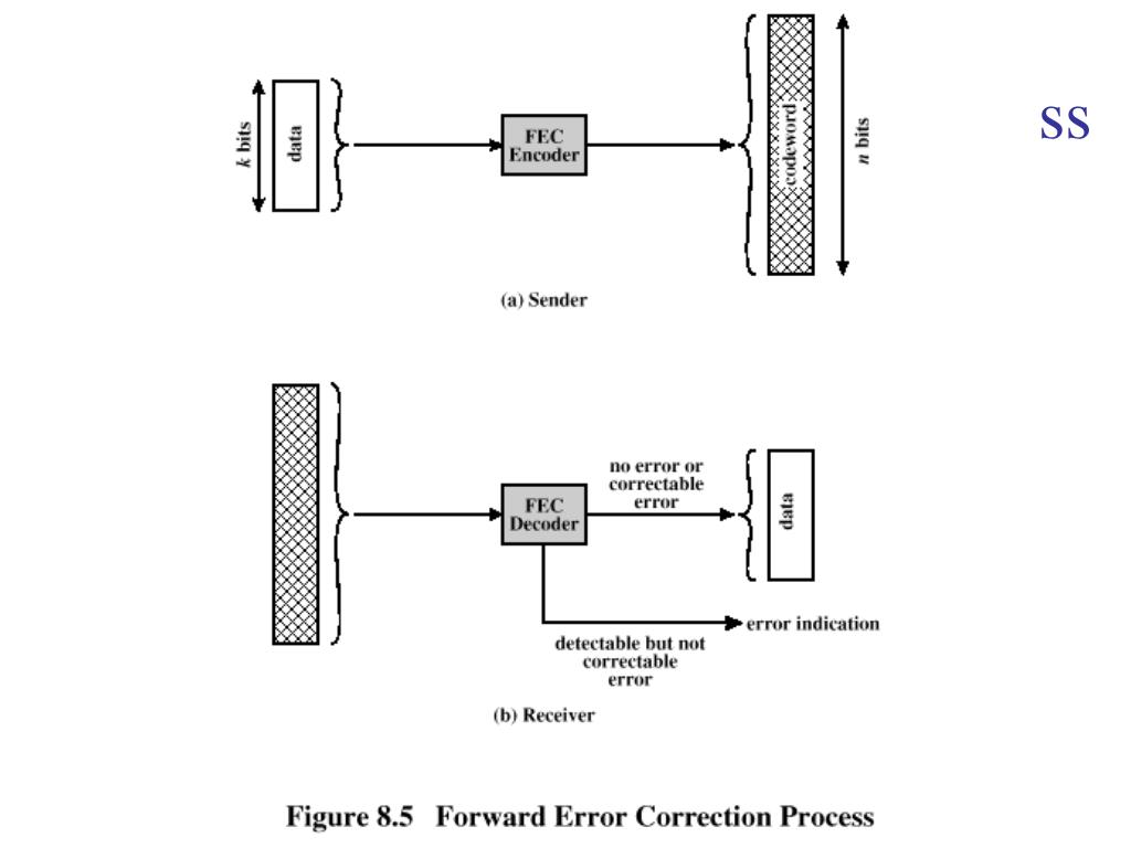 Forward Error Correction Process