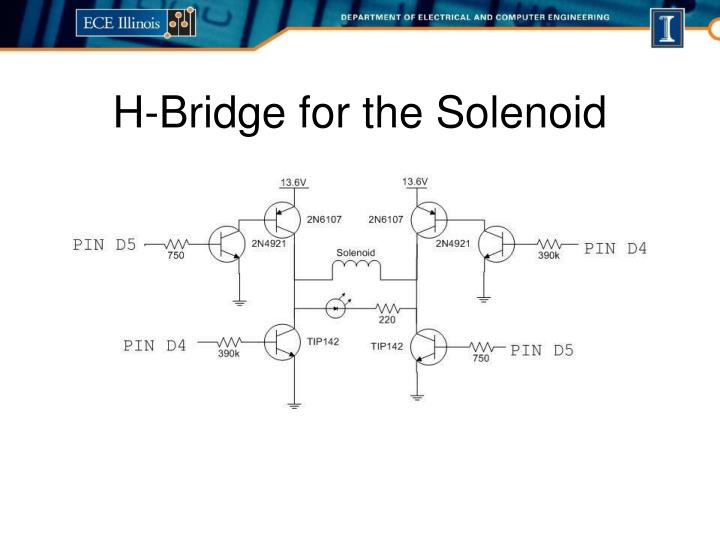 H-Bridge for the Solenoid