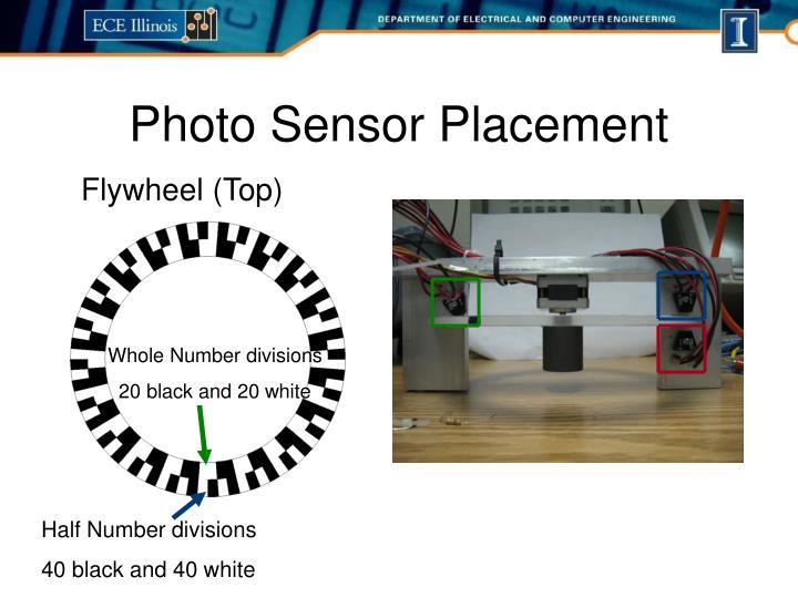 Photo Sensor Placement
