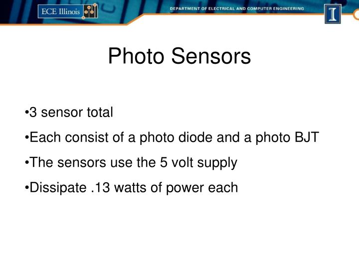 Photo Sensors