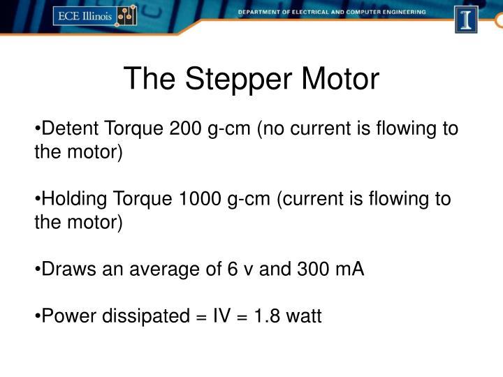 The Stepper Motor