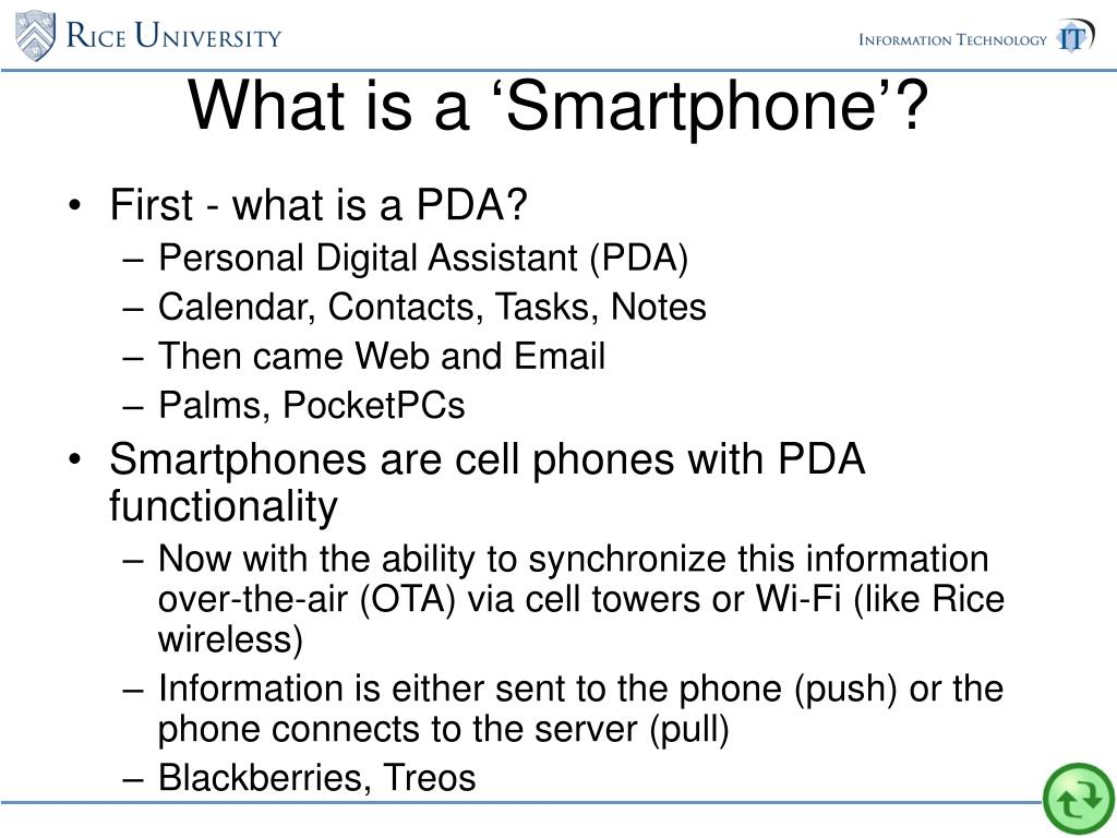 What is a 'Smartphone'?