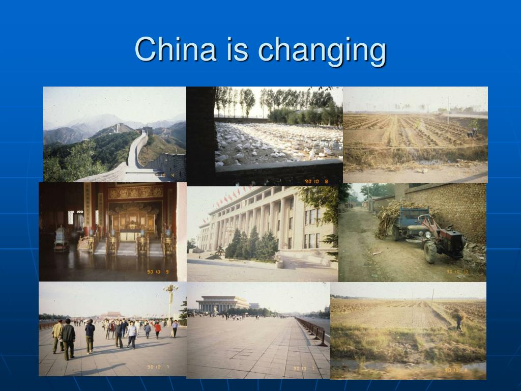 China is changing