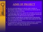 aims of project49