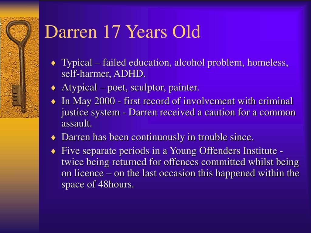 Darren 17 Years Old