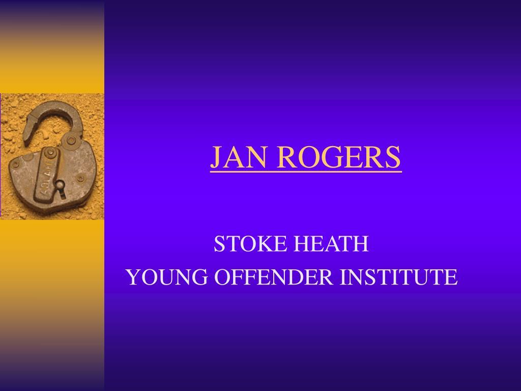 JAN ROGERS