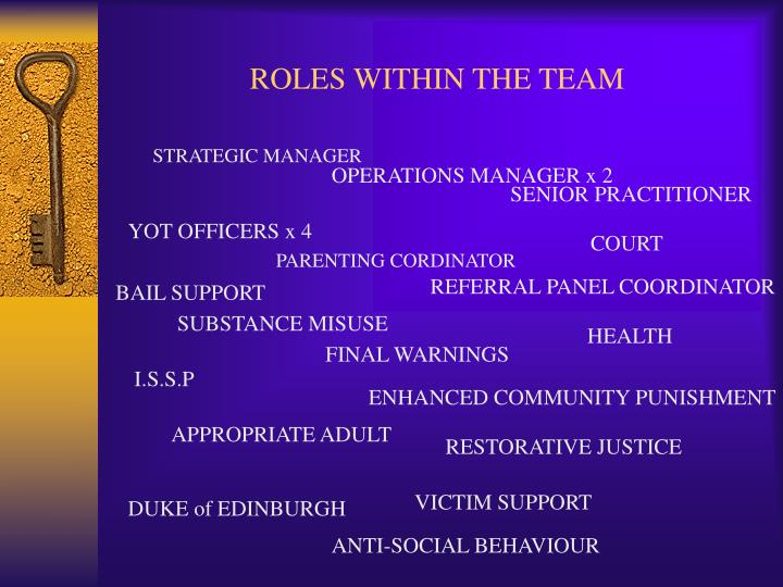 Roles within the team