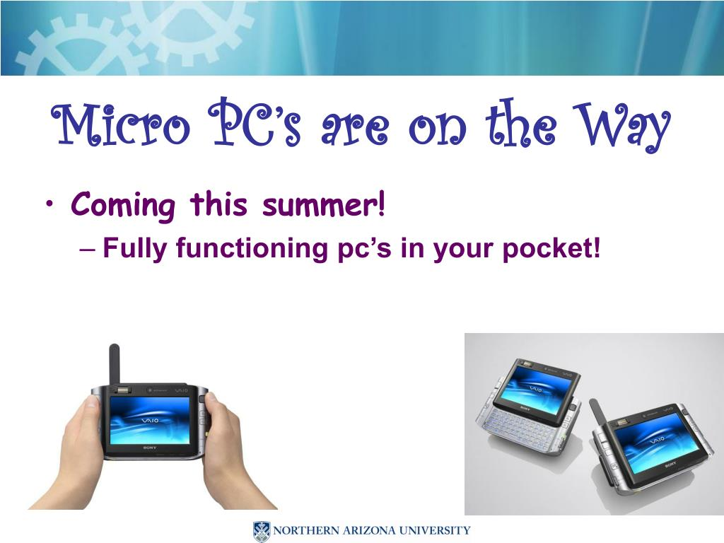 Micro PC's are on the Way