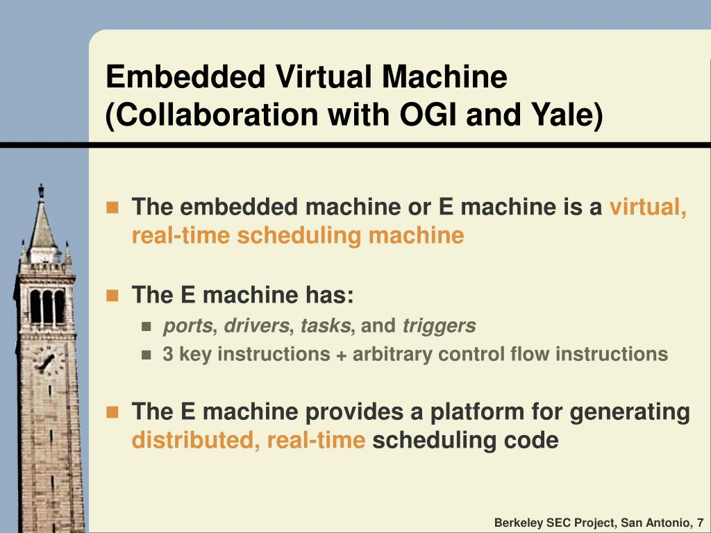 Embedded Virtual Machine