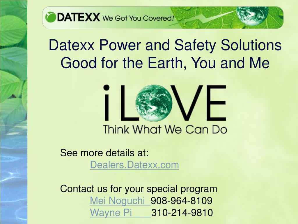 Datexx Power and Safety Solutions