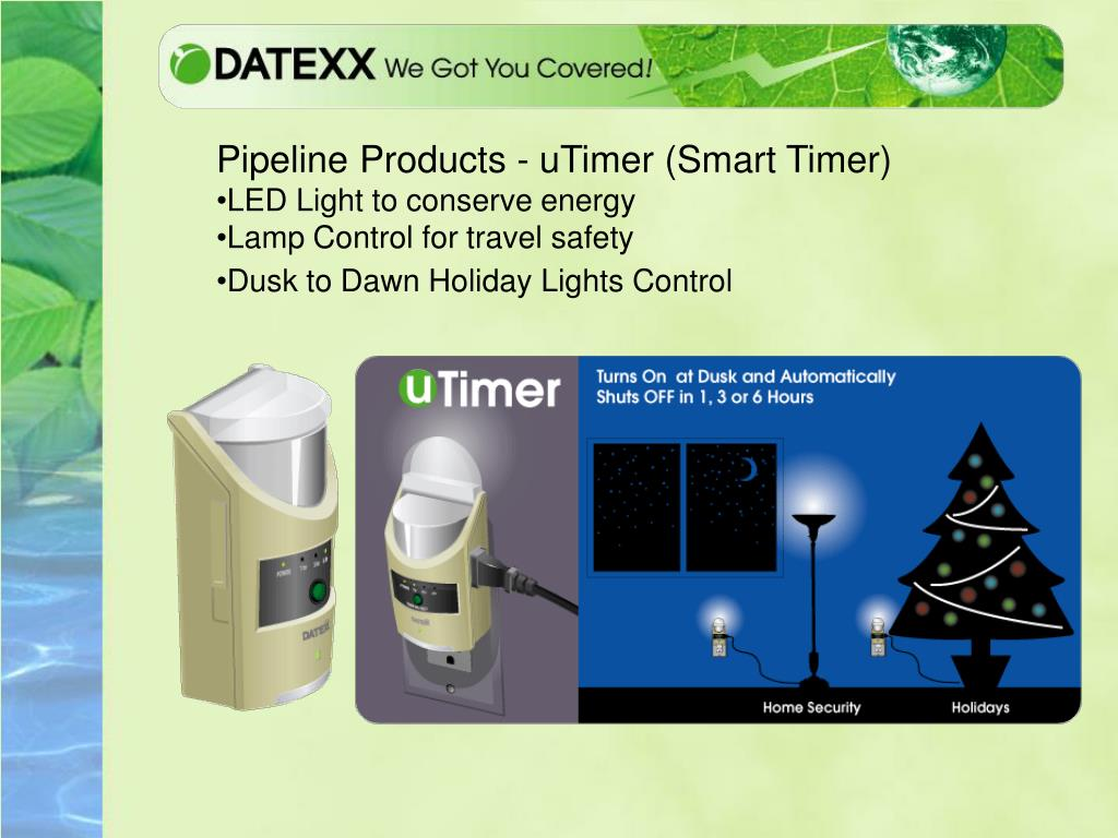 Pipeline Products - uTimer (Smart Timer)