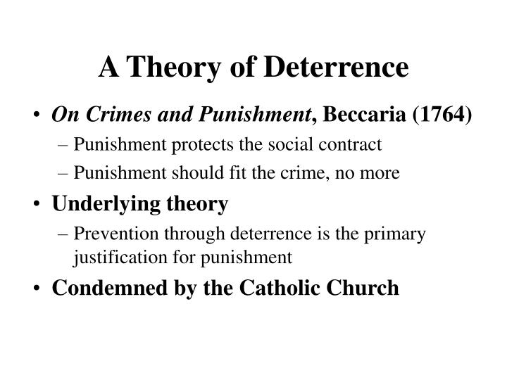 A Theory of Deterrence