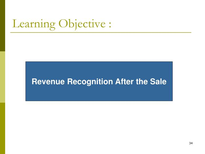 Learning Objective :