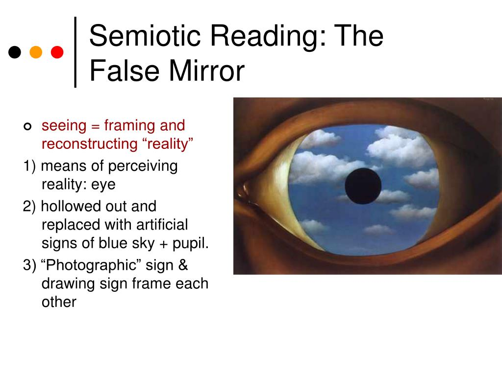 "seeing = framing and reconstructing ""reality"""