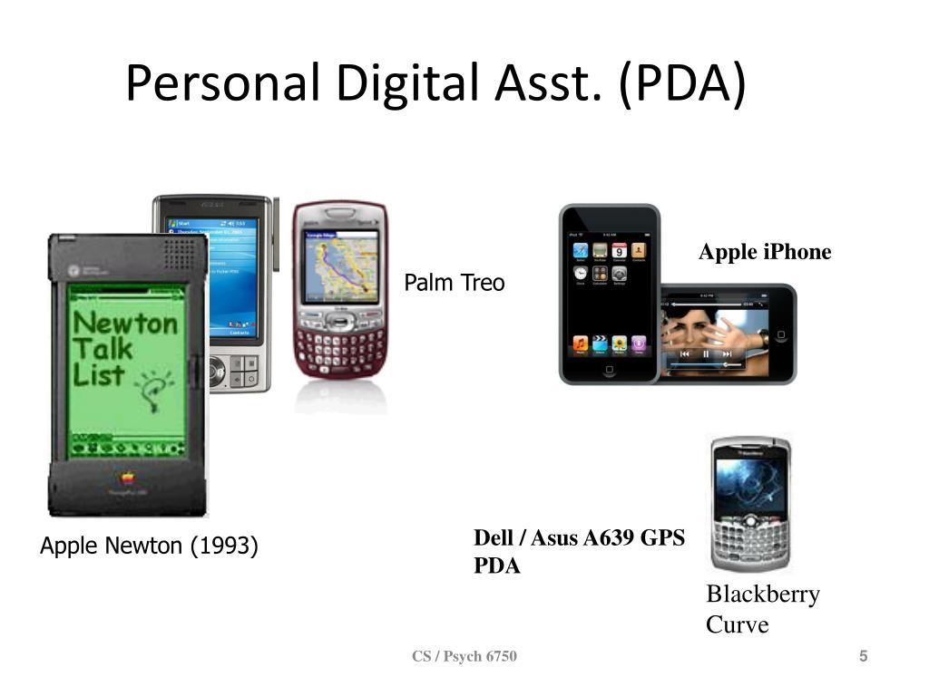Personal Digital Asst. (PDA)