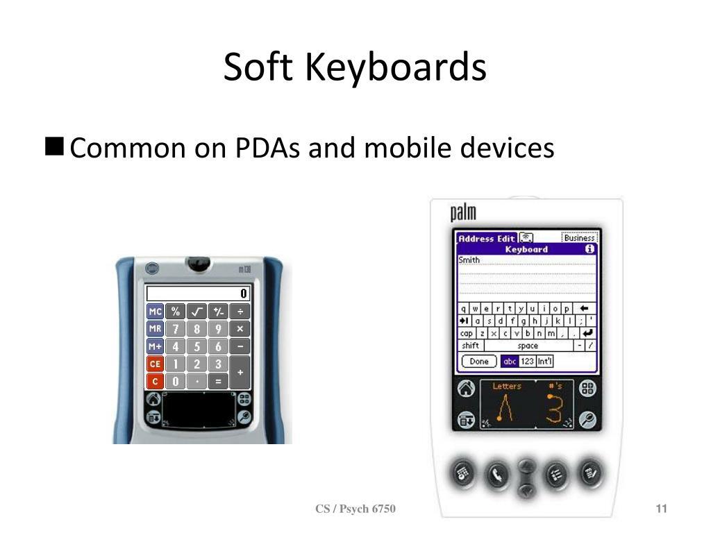 Soft Keyboards
