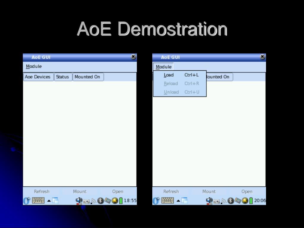 AoE Demostration