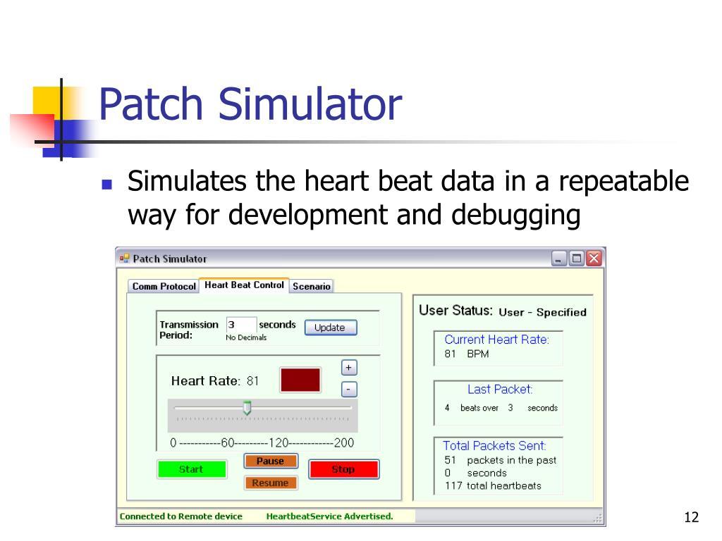 Patch Simulator