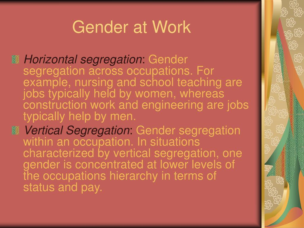 Gender at Work