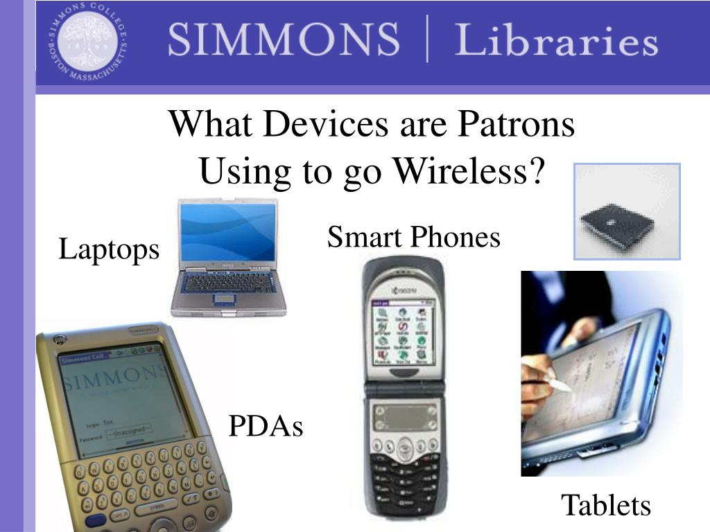 What Devices are Patrons