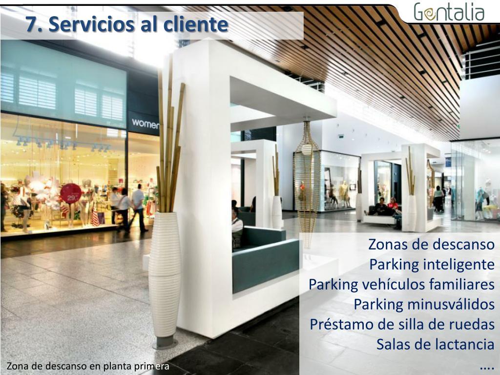 7. Servicios