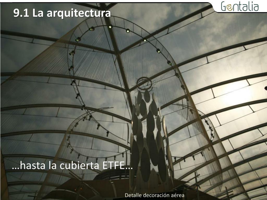 9.1 La arquitectura