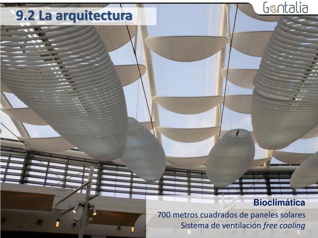 9.2 La arquitectura