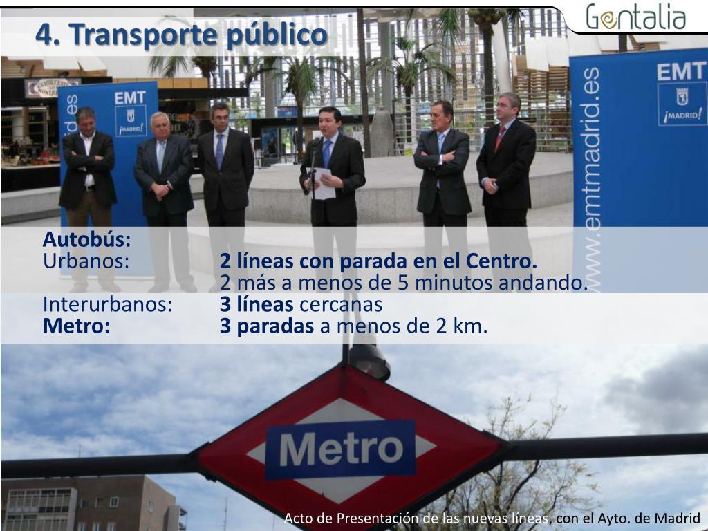 4. Transporte