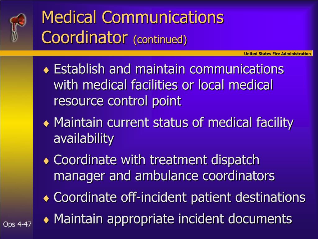 Medical Communications Coordinator