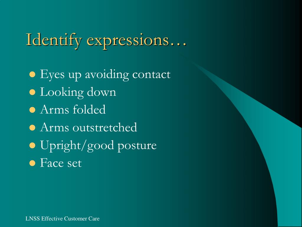 Identify expressions…