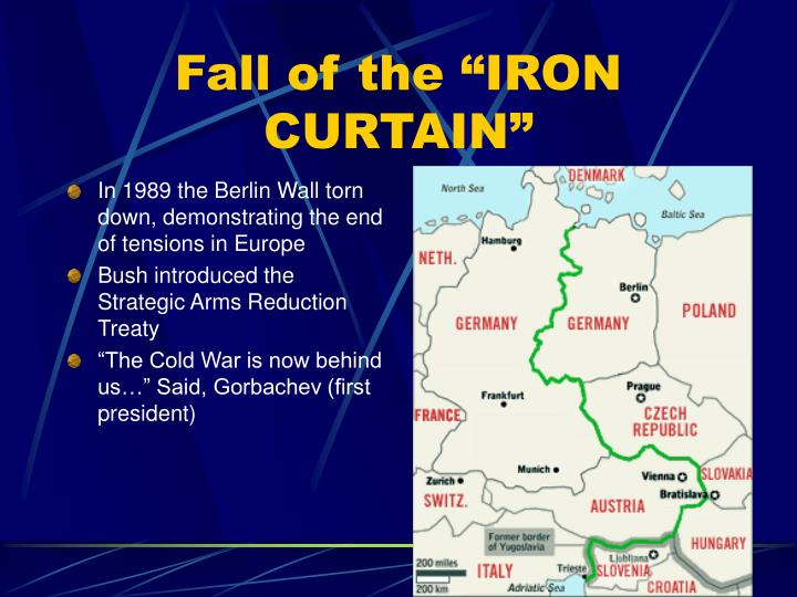 "Fall of the ""IRON CURTAIN"""