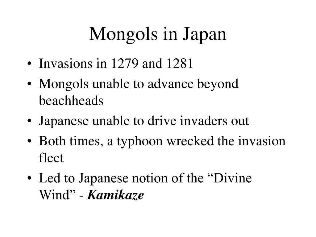 Mongols in Japan