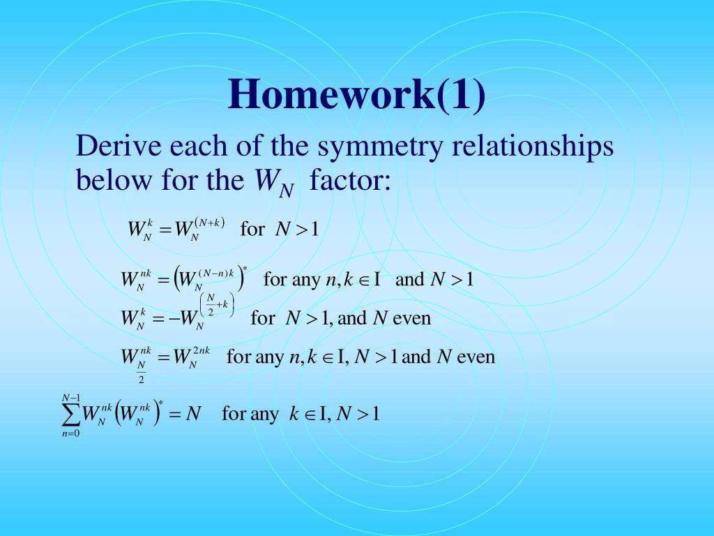 Homework(1)
