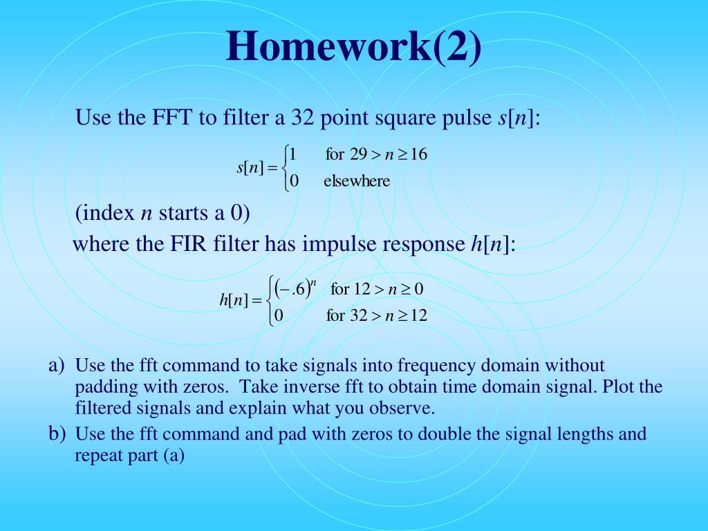 Homework(2)